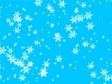Light Blue Snow