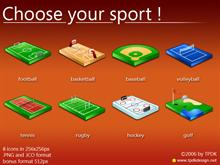 Choose your sport ! Icons