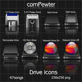 comPewter (Drive Icons)