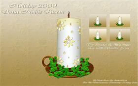 Holiday Candle WallPack