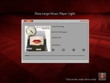 Flare Large Music Player Light