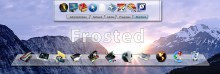 Frosted Dock Backgrounds
