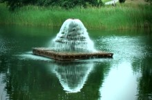 Reflective Fountain