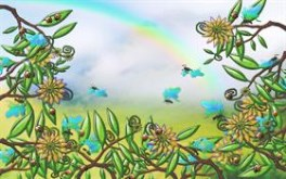 ecological illustrated widescreen