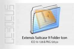 Extensis Suitcase 9 Folder Icon
