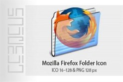 Mozilla Firefox Folder Icon